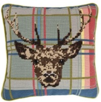 Highland Stag - Tartan Tapestry Kit
