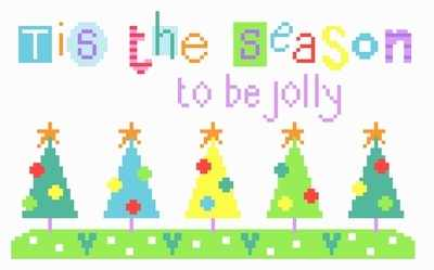 Tis the Season - Christmas Cross Stitch - The Stitching Shed