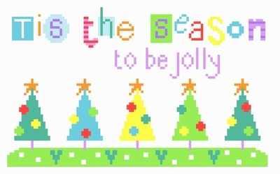 Tis the Season - Christmas Cross Stitch - The Stitching Shed