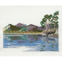 Friars Crag - Lake District Cross Stitch