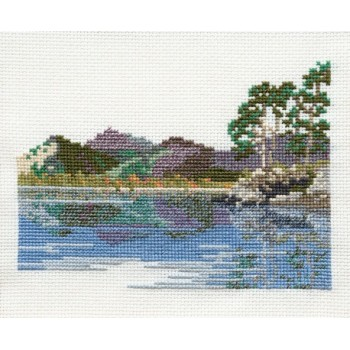 Friars Crag - Lake District Cross Stitch