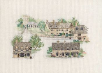 Cotswold Village Cross Stitch