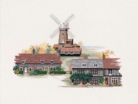 Norfolk Village Cross Stitch