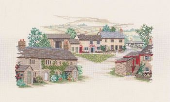 Yorkshire Village Cross Stitch