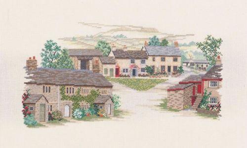 Yorkshire Village Cross Stitch