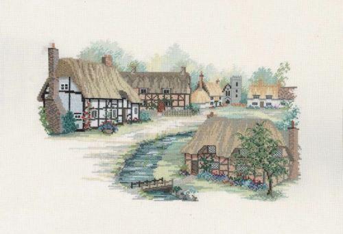 Hampshire Village Cross Stitch