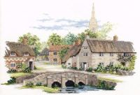 Wiltshire Village Cross Stitch
