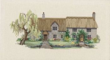 Willow Tree Cottages Cross Stitch