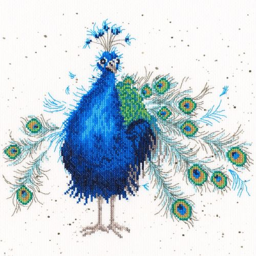 Practically Perfect - Hannah Dale Peacock Cross Stitch