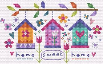 Sweet Garden Sampler Cross Stitch