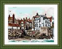 Robin Hoods Bay Tapestry Kit - Brigantia Needlework
