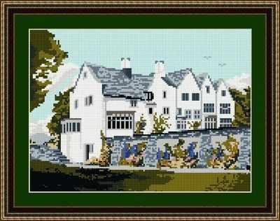 Blackwell House - Windermere - Brigantia Tapestry Kit