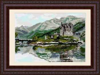 Eileen Donan Castle - Scotland - Brigantia Tapestry Kit