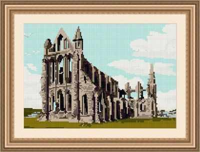 Whitby Abbey - Brigantia Tapestry Kit