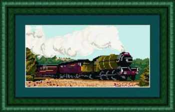 Green Arrow - Steam Train - Brigantia Tapestry Kit