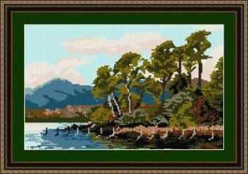 Friars Cragg - Cumbria - Brigantia Tapestry Kit