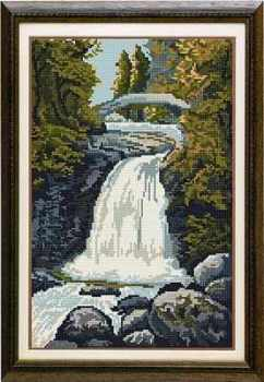 Falls of Garravalt - Brigantia Needlework Tapestry Kit