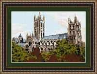 Canterbury Cathedral - Brigantia Tapestry Kit