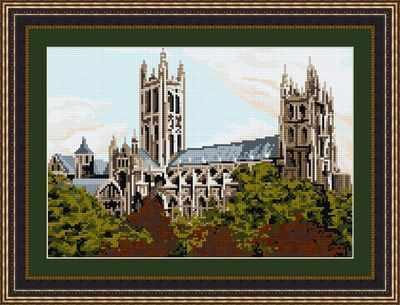 Canterbury Cathedral - Brigantia Needlework Tapestry Kit