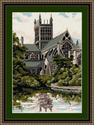Wells Cathedral - Brigantia Needlework Tapestry Kit