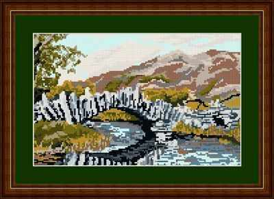 Slaters Bridge - Brigantia Needlework Tapestry Kit
