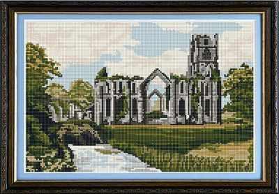 Fountains Abbey - Brigantia Needlework Tapestry Kit