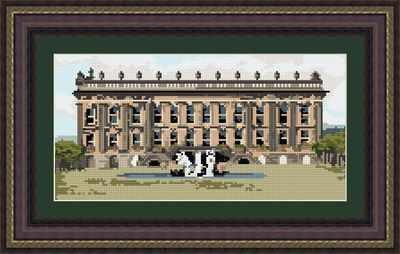 Chatsworth House - Brigantia Needlework Tapestry Kit