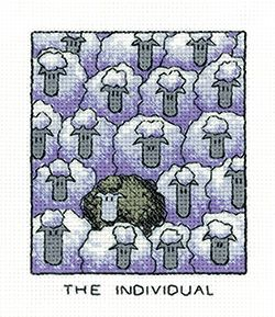 The Individual - Simply Heritage Sheep Cross Stitch