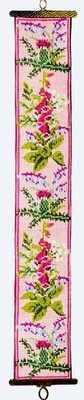 Wild Flowers Bellpull (Printed Cross Stitch Kit)