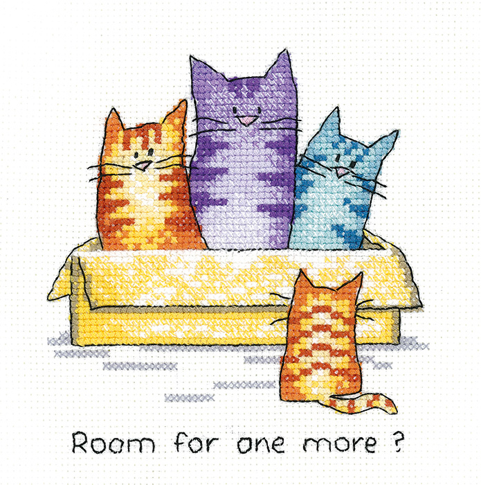 One More - Simply Heritage Cat Cross Stitch