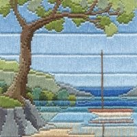 Beach Cove - Silken Long Stitch