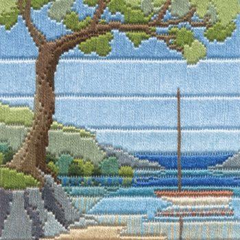 Beach Cove - Silken Long Stitch