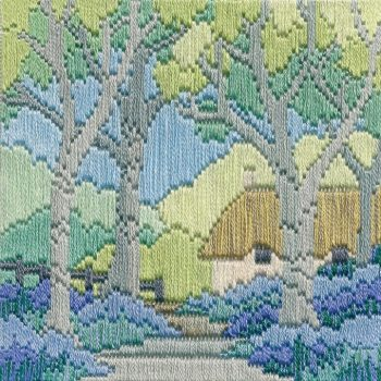 Bluebell Cottage - Silken Long Stitch