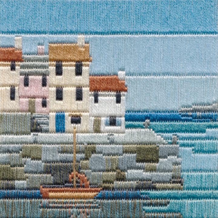 Fishermen's Cottage - Silken Long Stitch