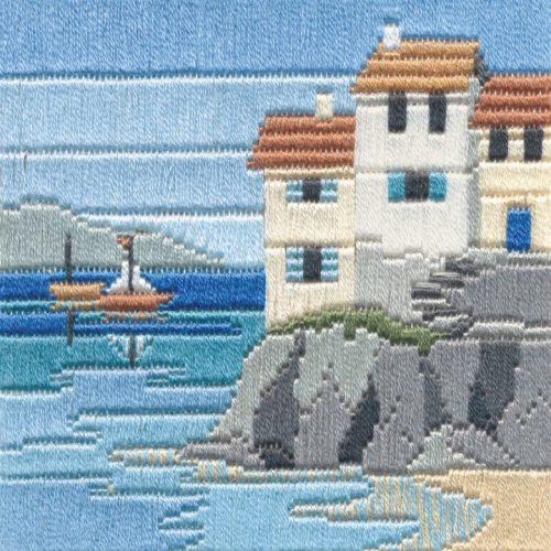 Headland Cottage - Silken Long Stitch