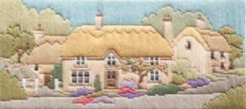 Rose Lane - Wool Long Stitch