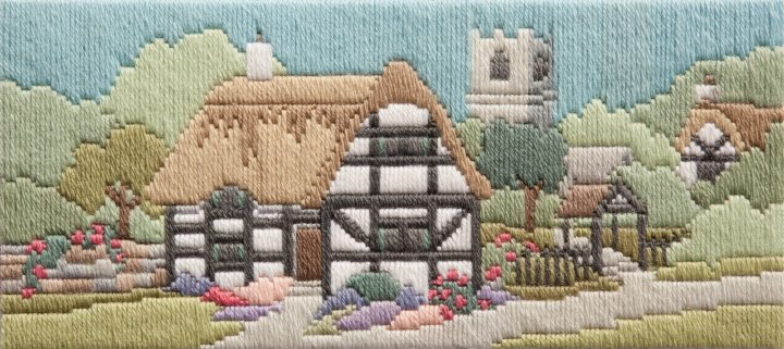 Church Lane - Wool Long Stitch