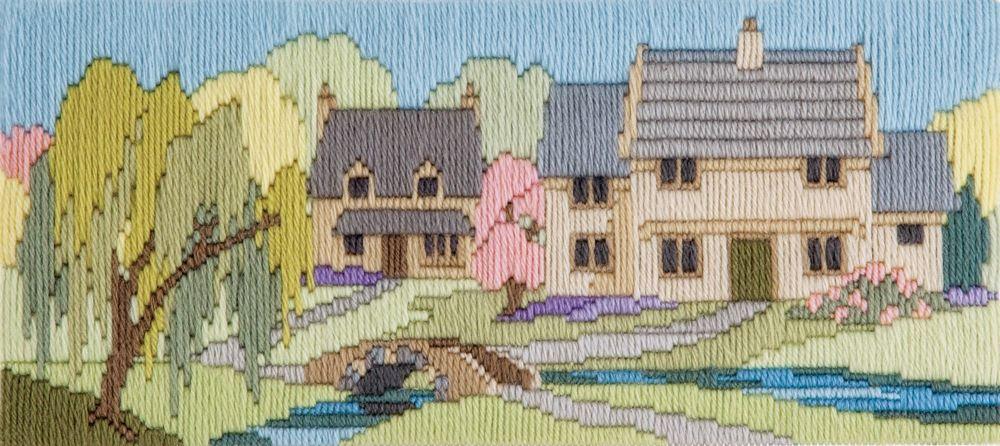 Derwentwater Designs Beckside Lane - Wool Long Stitch