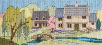 Beckside Lane - Wool Long Stitch