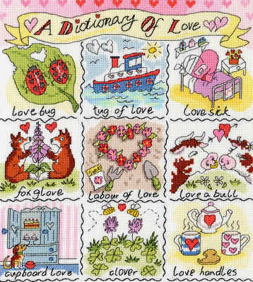 A Dictionary of Love - Bothy Threads