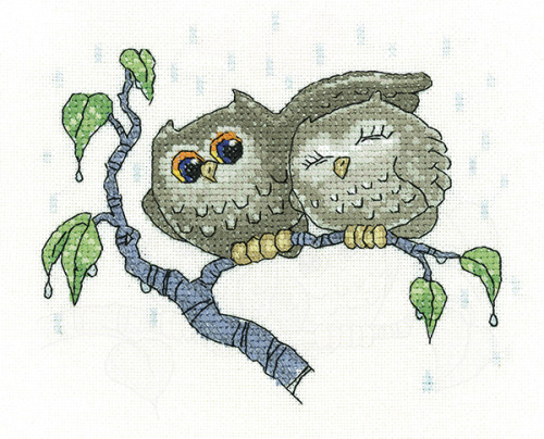 Your Shelter - Ollie Owl Cross Stitch