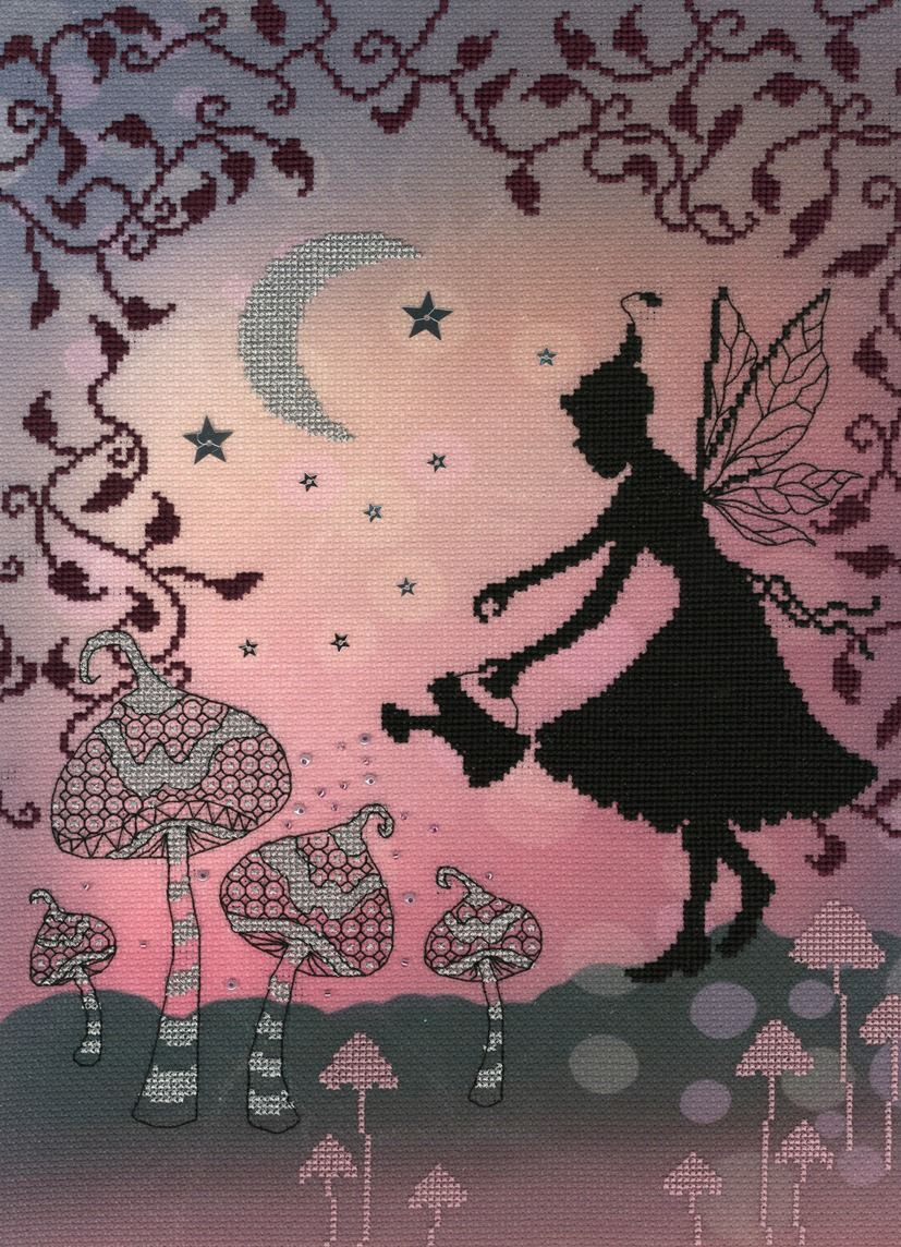 Melody - Enchanted Series - Fairy Cross Stitch - Bothy Threads