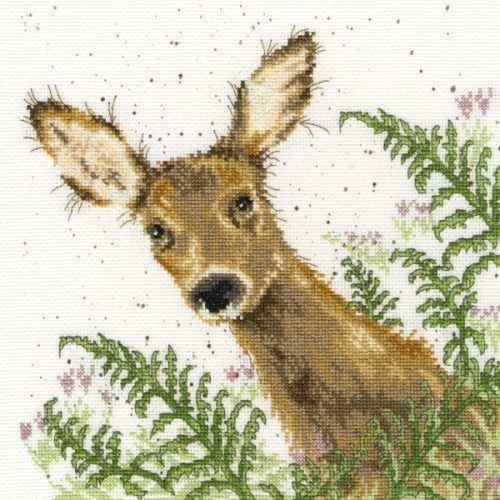 Doe A Deer Cross Stitch - Hannah Dale