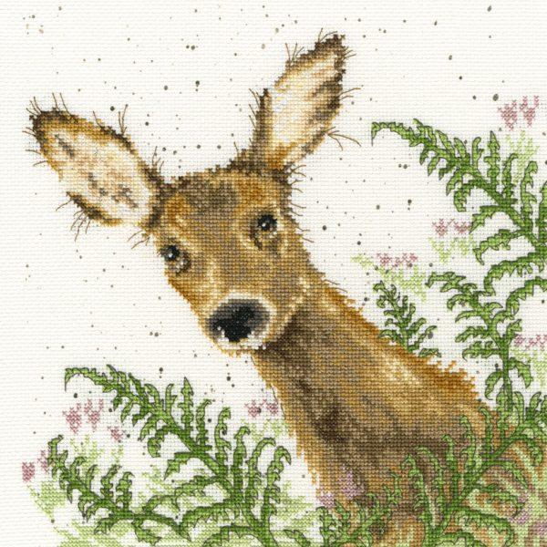 Doe A Deer Cross Stitch - Hannah Dale