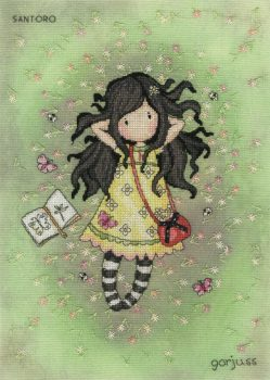 Spring At Last - Gorjuss Cross Stitch