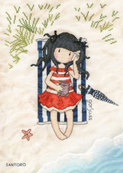 Summer Days - Gorjuss Cross Stitch
