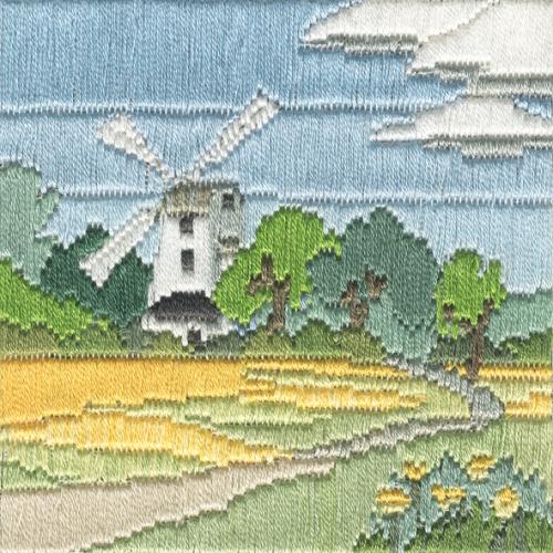 Windmill - Silken Long Stitch