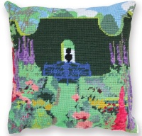 The Sundial Garden Herb Pillow Tapestry