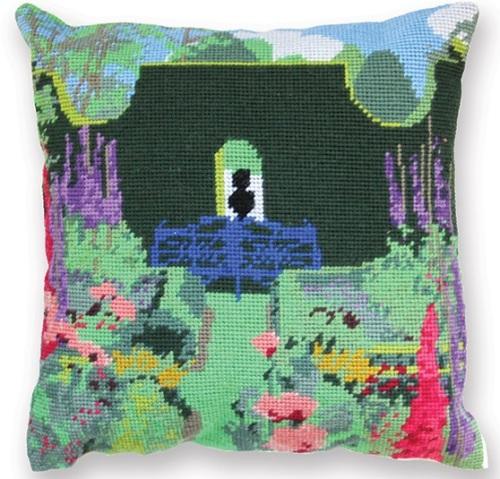 The Sundial Garden Herb Pillow Tapestry