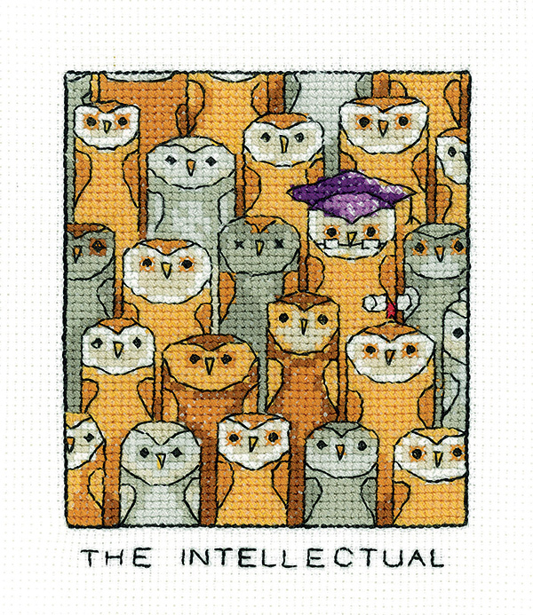 The Intellectual - Simply Heritage Sheep Cross Stitch